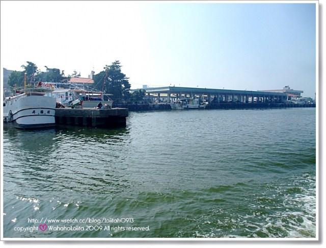 前进小琉球东港码头  说实在的,这次虽说是欣赏小琉球美丽的岛屿风情