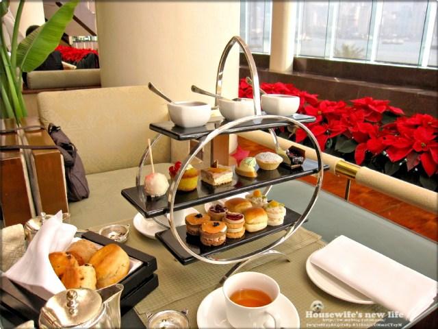 建国百年前香港行《下午茶:尖沙咀香港洲际酒店lobbylounge》
