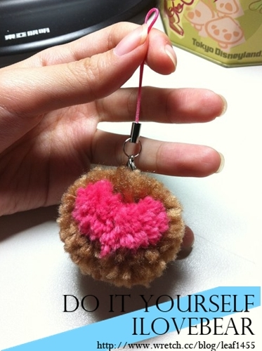 [分享]02自己动手做毛线球饰品便宜又可爱02