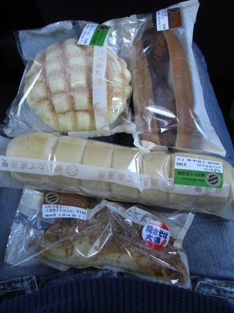 日本7-11麵包