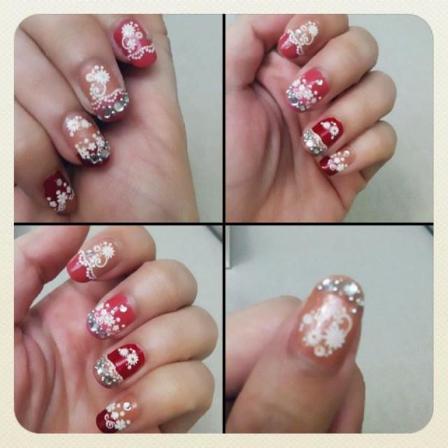 指甲彩绘diy027302糖果色的指甲