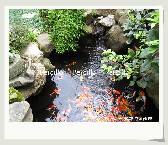 庭院小鱼池设计