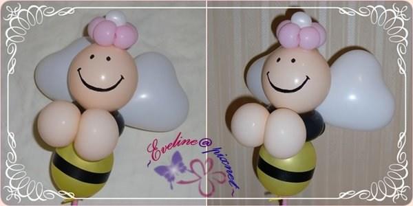 小气球造型小花步骤