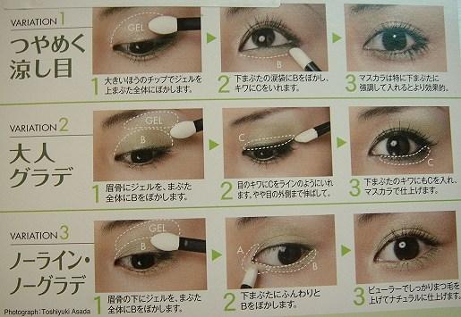 眼影颜色搭配和画法_眼影画法