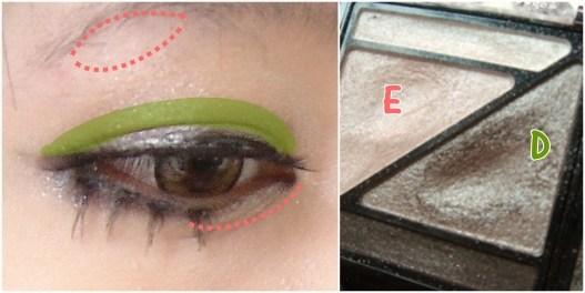 兔子眼妆画法步骤图