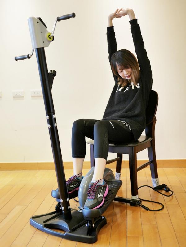 【居家健身器材推荐】bh百年欧洲品牌 舞动滑步机 摆脱萝卜腿计画