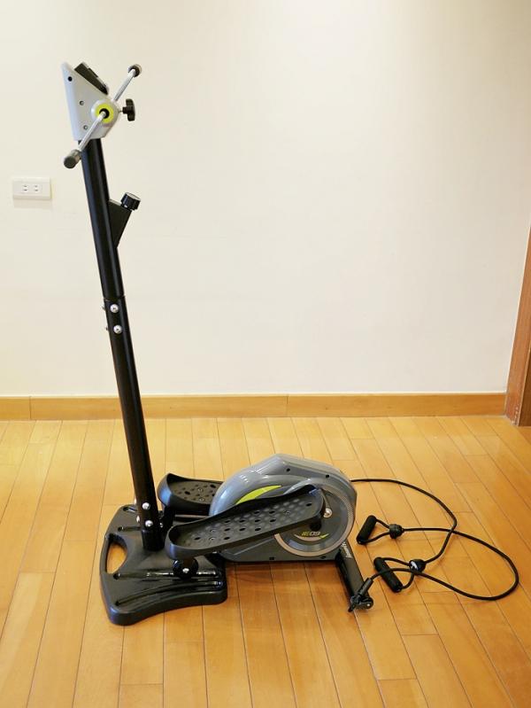 【居家健身器材推荐】bh百年欧洲品牌 舞动滑步机 摆脱萝卜腿计画star