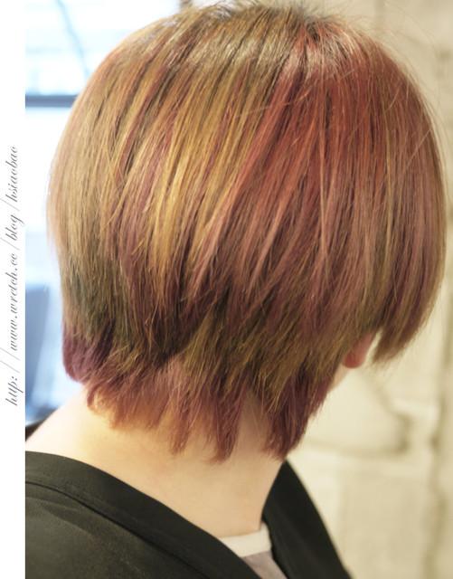 [发型] 经典英伦丝带欧圆圆沙宣鲍伯头 h park taylor图片