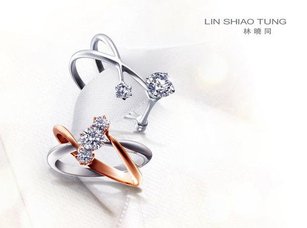 编织婚戒空间造型 展现原创性的珠宝工艺