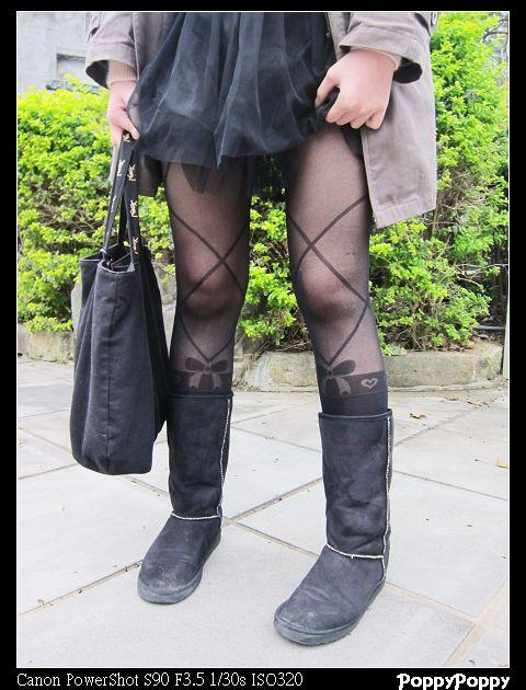 「穿衣搭配」设计感裤袜6连发x86小铺