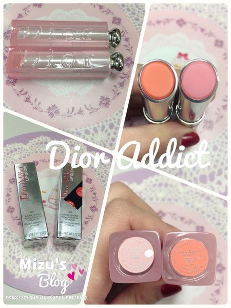 [唇彩] Dior 癮誘粉漾潤唇膏 SPF10 Dior Addict Lip Glow 001 004 UPDATE