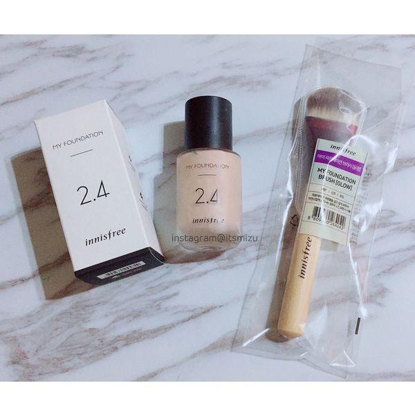 [底妝] innisfree 新款粉底液 My Foundation我的量膚訂製粉底液 2.4 C21