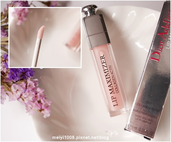 [彩妝]默默愛用的Dior高回購率彩妝品。豐漾俏唇蜜#001
