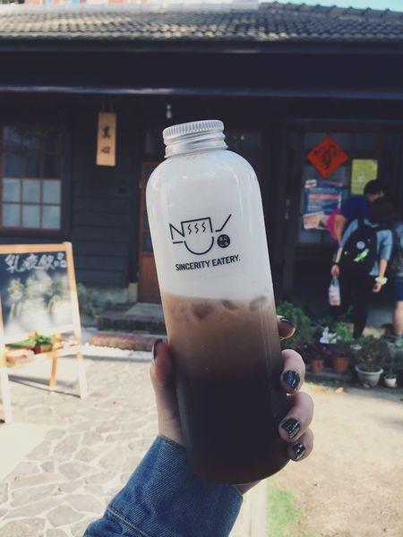 吃吃 ▍喝的乳液紅茶♥台南新化街役場日式真心食府
