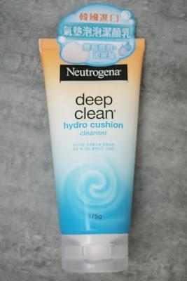 【Neutrogena 露得清】深層淨化氣墊泡泡保濕潔顏乳」
