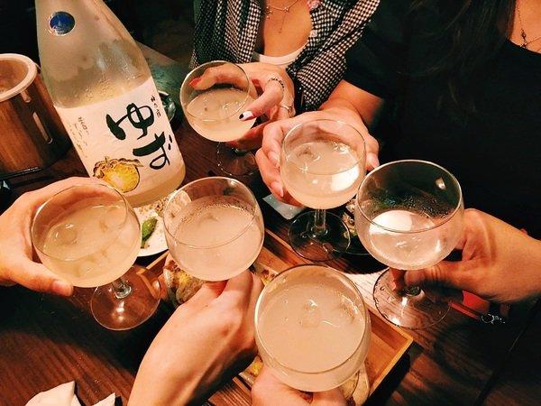 柚子酒乾杯.JPG