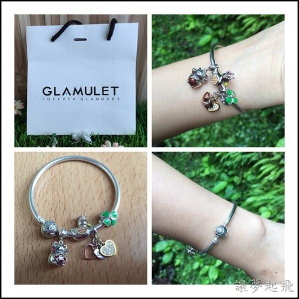 【飾品】GLAMULET格魅麗潘多拉風格手鏈串珠~創造屬於自己的故事手鍊(文末提供優惠15%折扣碼)