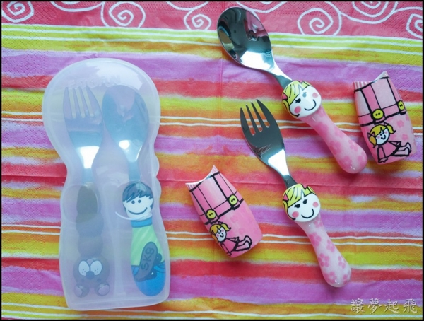 【育兒好物】『Eat4Fun』環保無毒兒童不鏽鋼餐具(316不鏽鋼)+ 收納盒~給寶貝無毒安全的用餐品質!
