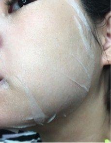 拯救干粉底~妆前用DF玻尿酸保湿补水面膜