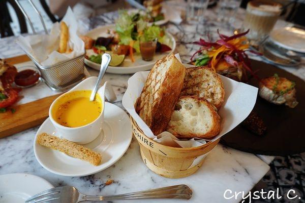 【台北美食推薦】雨人麵包餐館 Rain man Boulangerie Bistro 三明治好吃 溫沙拉好吃 麵包好吃 值得一訪再訪的歐式餐館推薦!(異國 義式)