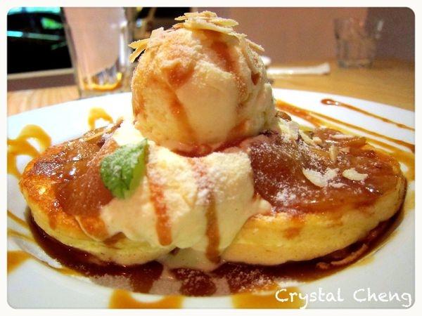 【台北美食推薦】Jamling Cafe之鬆餅怎麼那麼厚,鹹鬆餅好出色推薦!