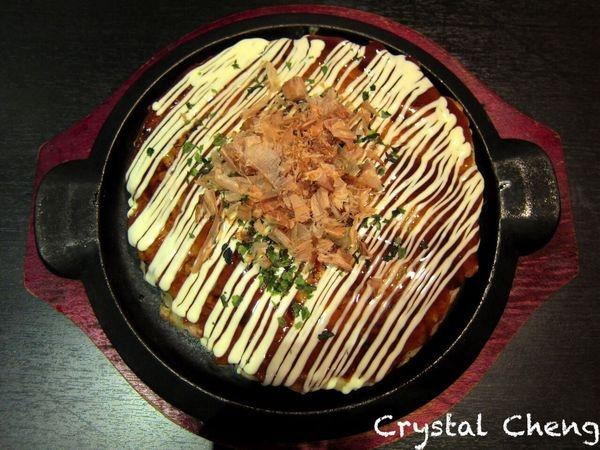 【台中美食推薦】 輕酌 Shiso 法國人主廚做的日式大阪燒 還有美味法式甜點 真是意想不到好大的文化衝擊呀!