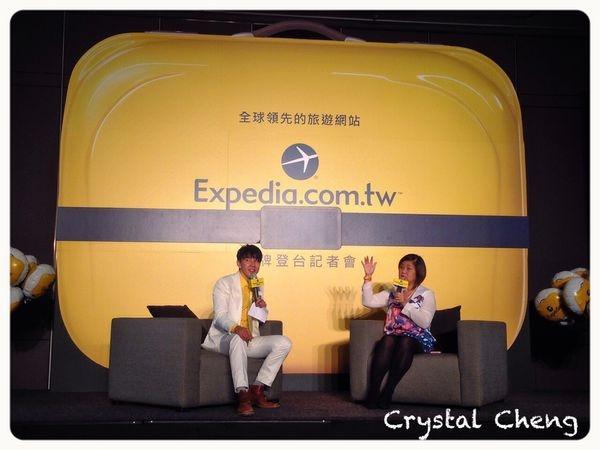 【旅遊資訊】Expedia 進軍台灣啦!!12月的週末假日快去找黃色大行李箱打卡吧!!