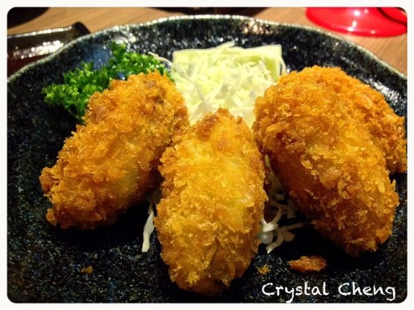 【台北美食】南港樂麵屋 非常鮮美炸牡蠣推薦!沾麵湯頭真的鹹死人不推薦!