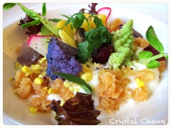 【台中美食推薦】Restaurant Go 沙拉好像繽紛小花園 有大人味道的精緻餐廳 非常推薦!!