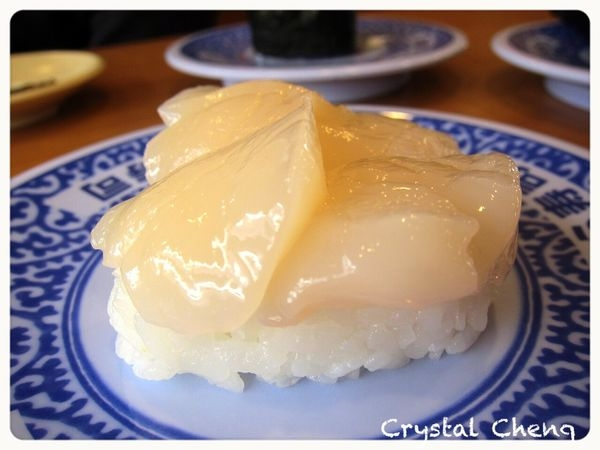 【台北美食推薦】藏壽司二訪 吃到大雷海膽 但是帆立貝鮭魚依舊好吃推薦!