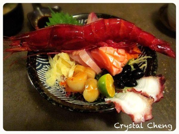 【台北美食推薦】玄馥日本料理 橫躺碗中央霸氣紅通通胭脂蝦 威~滿出界了吶!