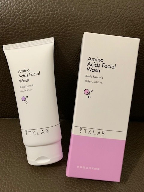 【洗面乳推薦】TKLAB 氨基酸溫和潔顏霜,溫和清潔肌膚,有效去除肌膚多餘油脂與髒污,不帶走多餘水份。