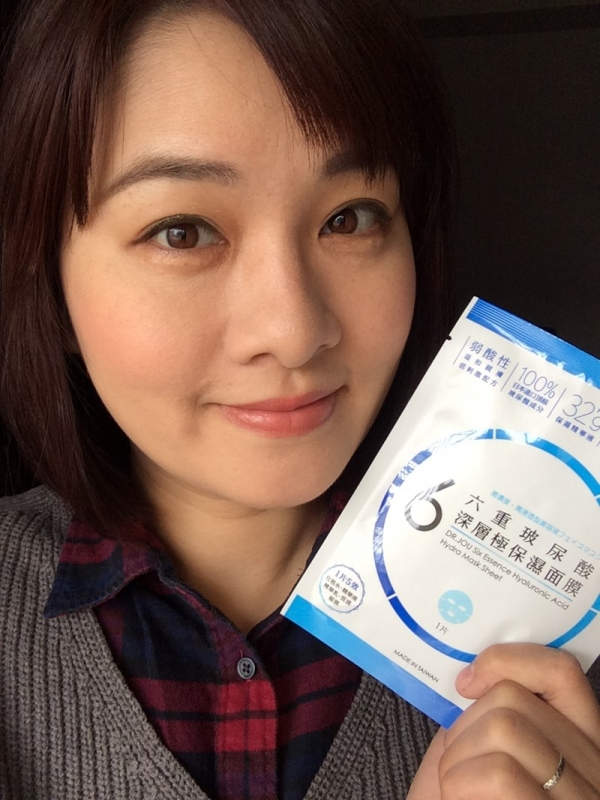▍ 保濕面膜推薦 ▍ DR.JOU森田藥粧六重玻尿酸深層極保濕面膜,溫和親膚,飽水肌養成。