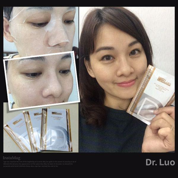 光、透、亮的美肌體驗。DR.Luo 金箔激光美白面膜
