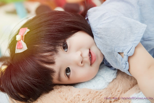《寫真》寶寶滿周歲寫真拍攝,超自然拍攝
