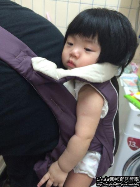 《邀稿體驗》Combi SF3腰帶型減壓背巾─型男老爸背的輕鬆