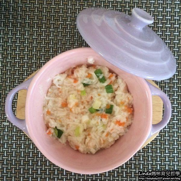 《副食品》9M  高麗菜胡蘿蔔蔥花吻仔魚麵線