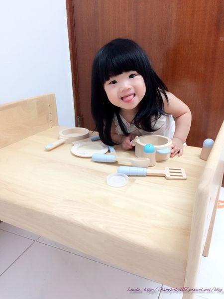 《育兒好物》MesaSilla寶寶自主桌椅組加大款—小貝拉的第一張專屬桌椅