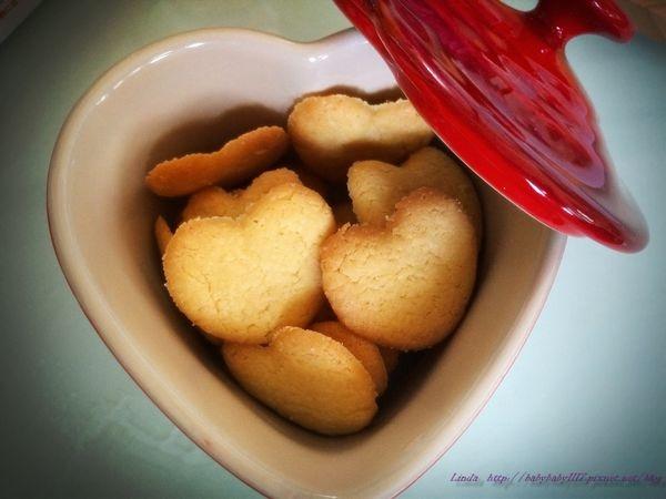 《人妻愛烘培》愛心餅乾(1歲以上的寶寶可食)