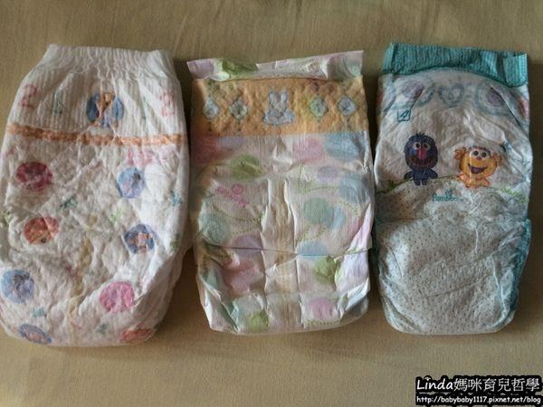 《育兒》  三種尿布評比:美國幫寶適(baby dry)、妙而舒(柔點清新乾爽)、滿意寶寶(極致呵護)【更新】