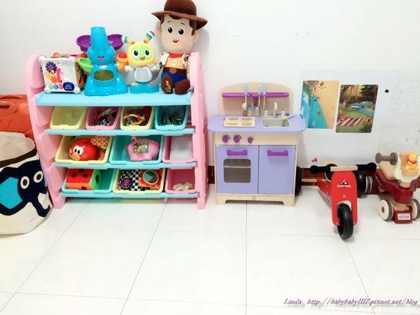 結合拉車功能的WOOHOO兒童玩具收納架—讓寶貝從小養成自主收納好習慣