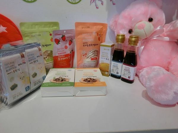【韓國Bebefood寶寶福德】專為寶寶設計的醬油、海鹽、米餅