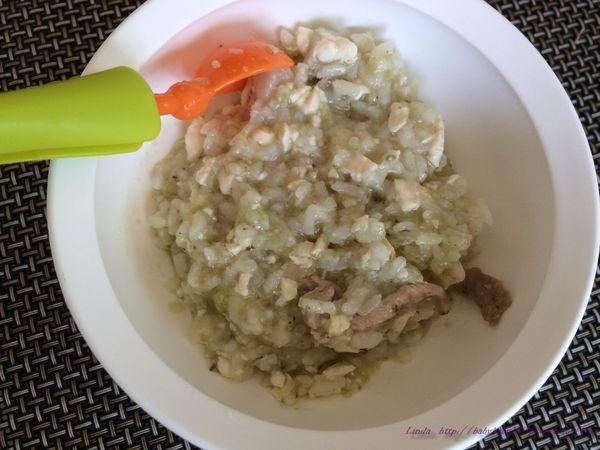 <一歲餐點>奶油肉絲香菇瓜瓜燉飯