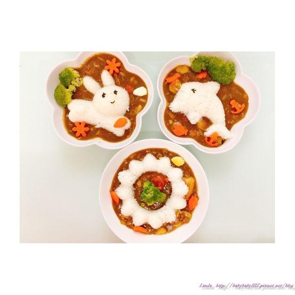 Arnest立體熊熊吐司壓模造型+表情海苔按壓器+愛咖哩飯糰模型(野餐驚喜組合)(附上寶寶咖哩造型餐做法)