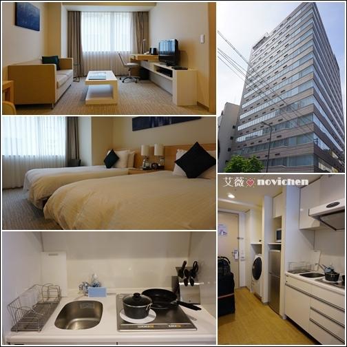 《2014。大阪》【住宿】Fraser Residence Nankai Osaka 大阪輝勝庭飯店
