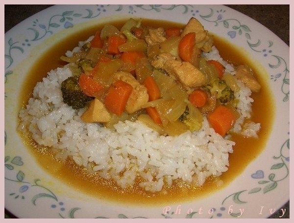 *中式料理* 咖哩雞肉飯 & 咖哩雞肉麵