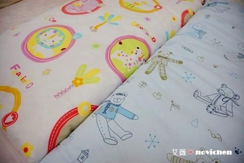♥ 寢具用品 ♥ HOLA ~ 可愛實用的HH繽紛動物/泰迪家族防蹣印花涼被