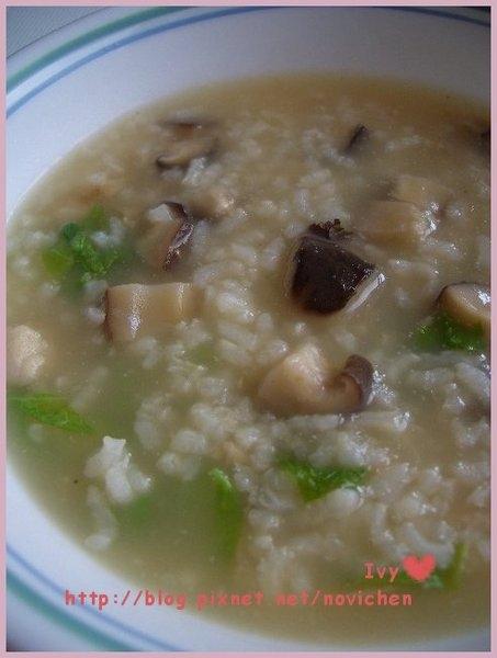 *中式料理* 香菇雞肉粥