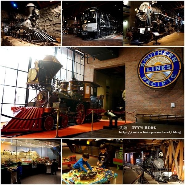 ▌美國加州 ▌【Sacramento景點】家有男孩一定不可錯過的加州州立鐵路博物館♥ California State Railroad Museum ♥