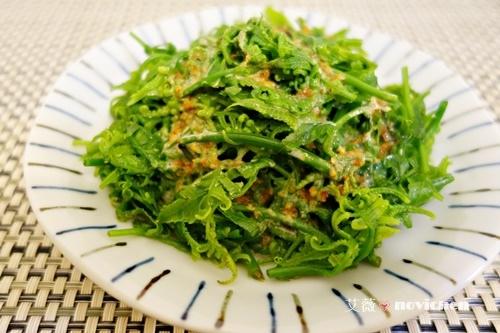 ♥ 艾薇廚房 ♥  湯青菜也可以很美味 ▌胡麻醬過貓▌